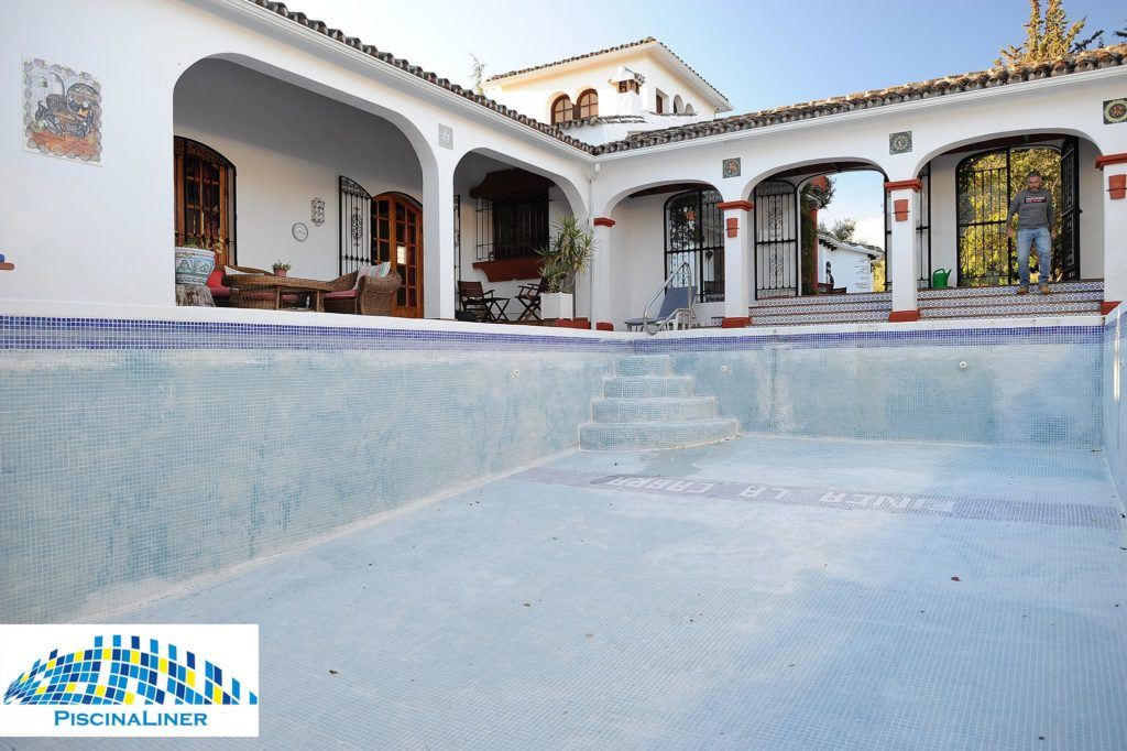 Renovation of Swimming Pool, Ronda, Malaga
