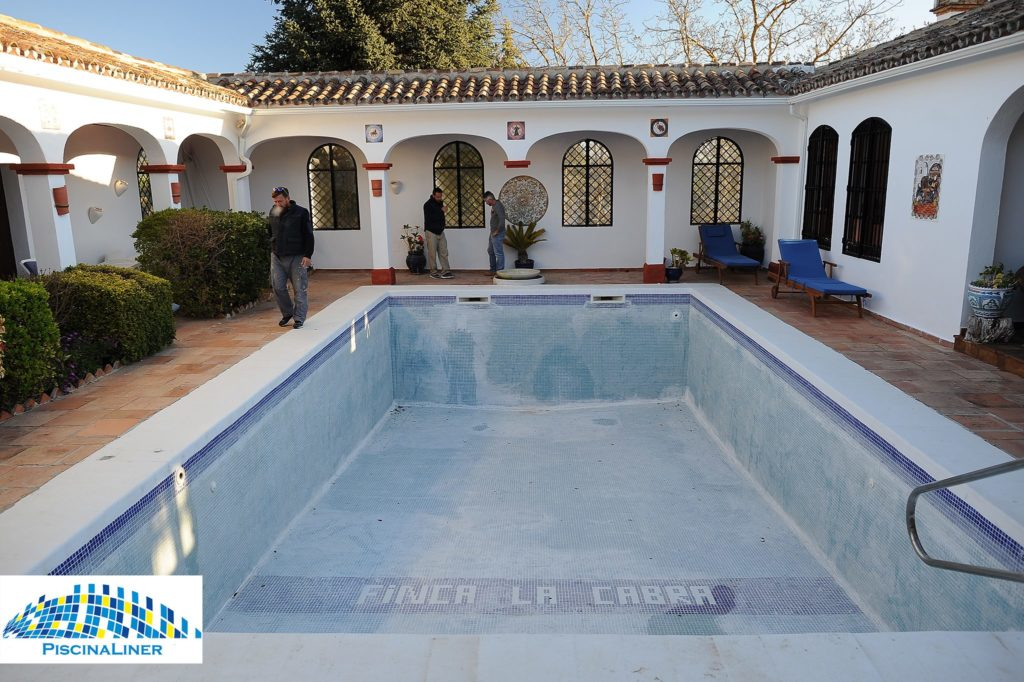 Renovation of old swimming pool