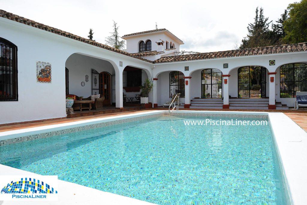 Reformed swimming pool, Ronda, Malaga