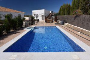 Reforma piscina, Almeria