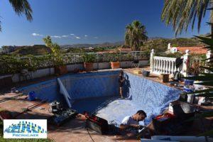 Swimming pool liner installers, Malaga