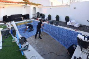 Liner installers, Algarve