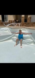 Replacing old pool liner