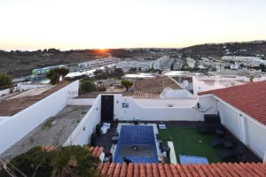 Overlooking Albufeira Marina