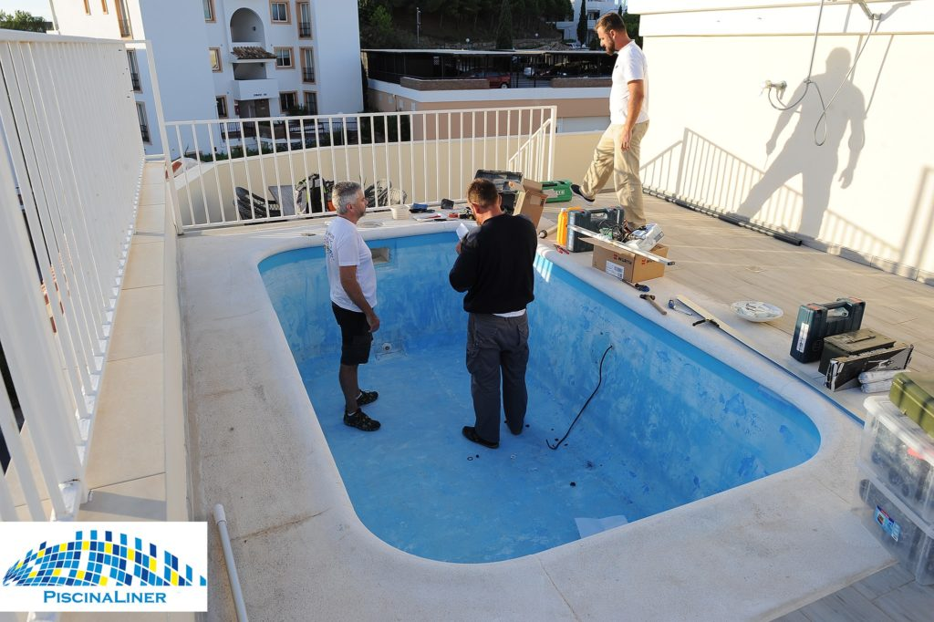 Penthouse fibreglass plunge pool