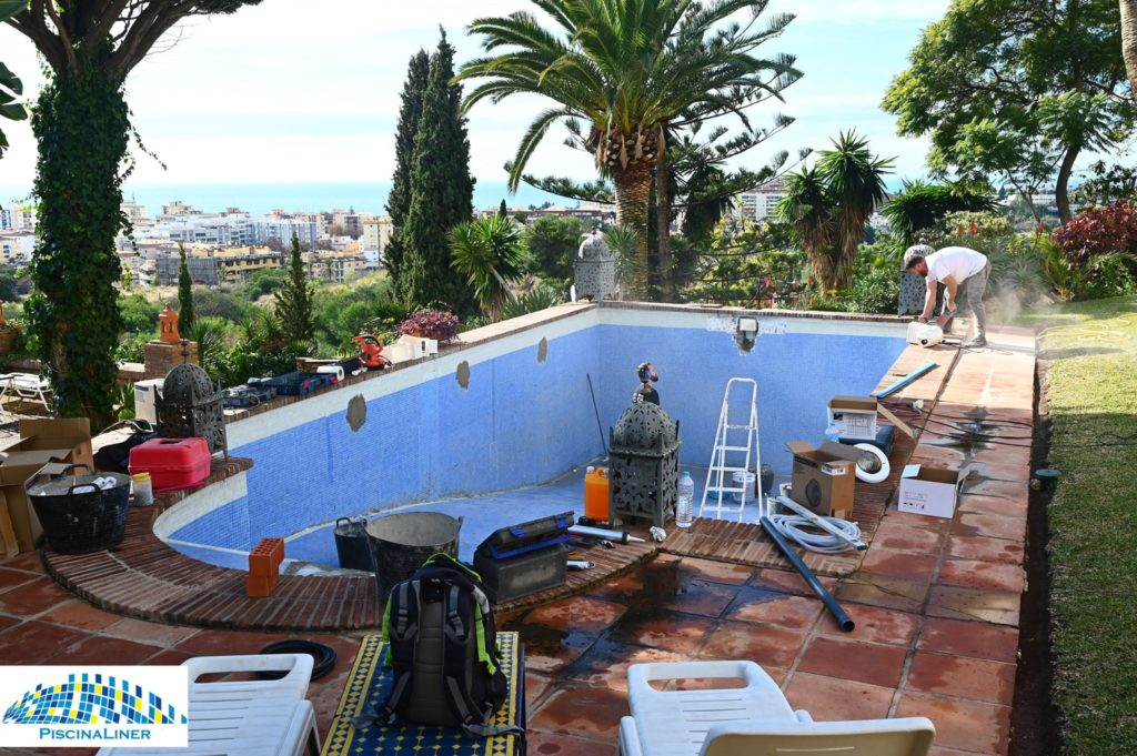 Leaking pool repairs, Marbella