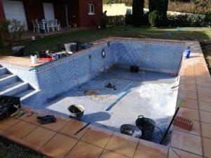 Reformacion de piscina, Sotogrande Alto