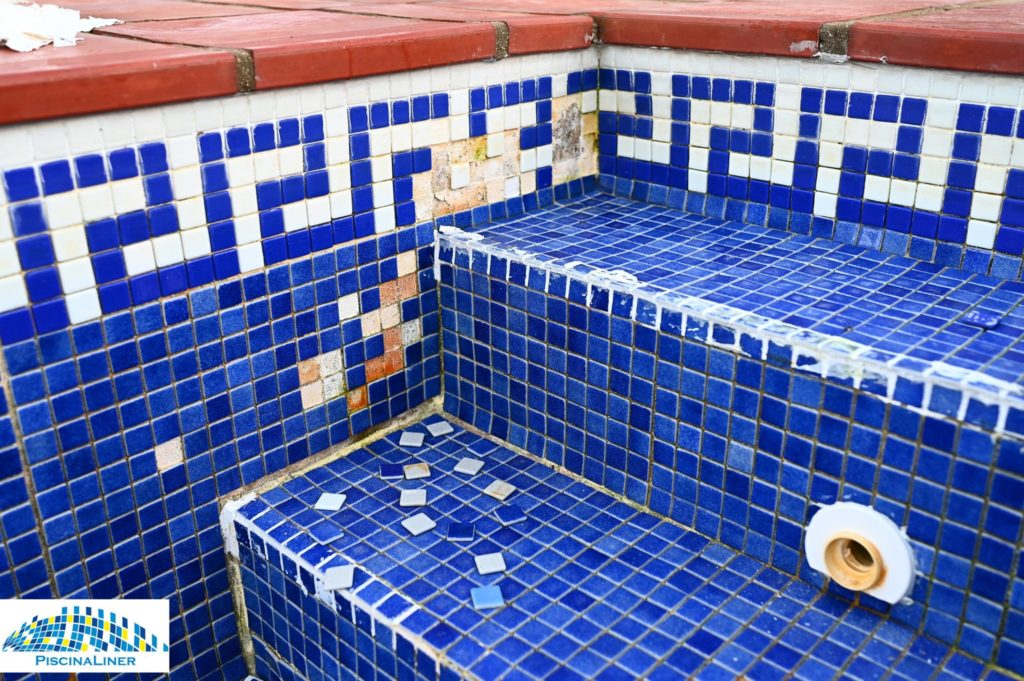 Replacing loose pool tiles