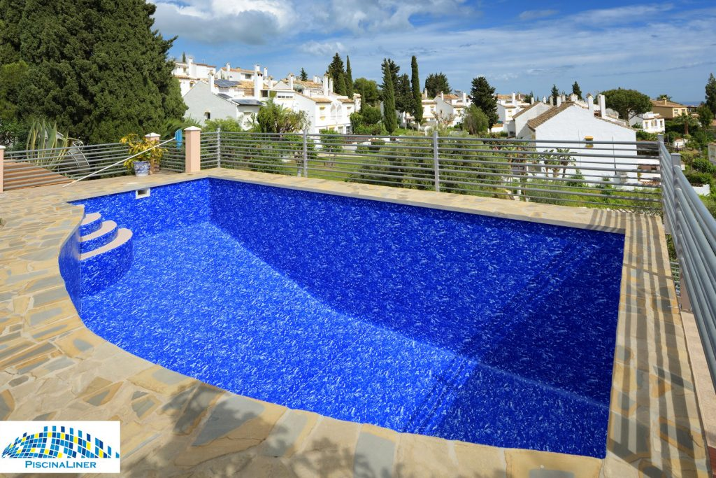 Swimming pool liner installation, Mijas
