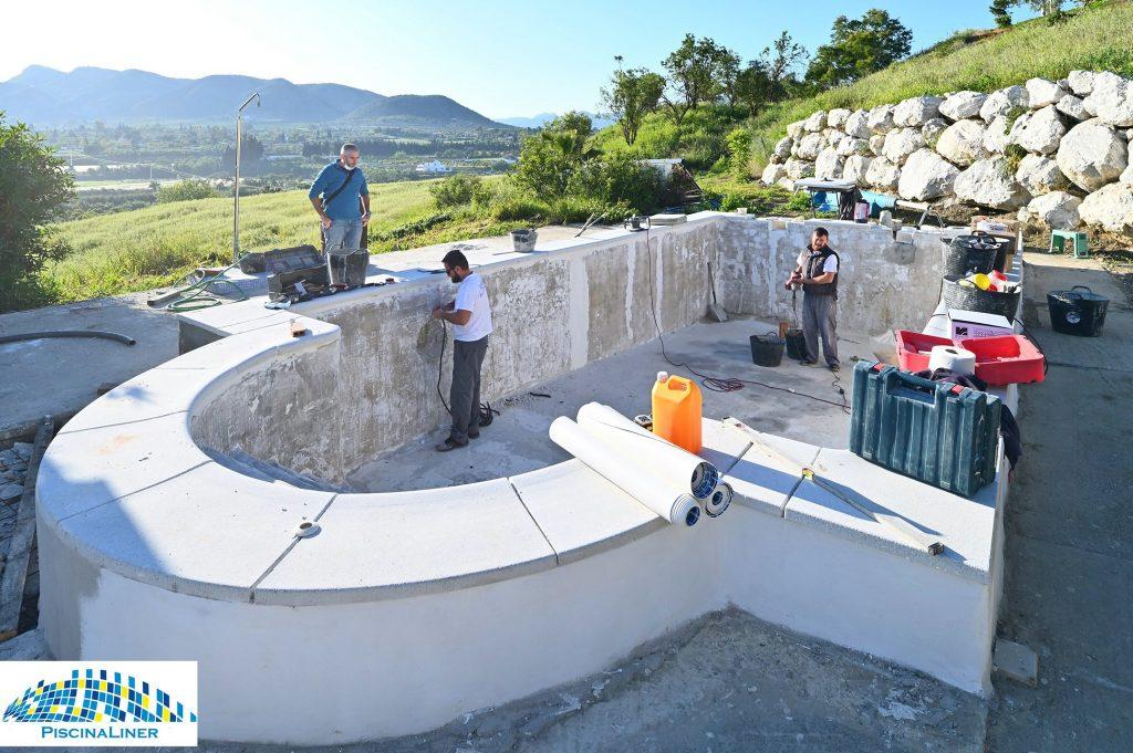 Swimming Pool repair, Cartama