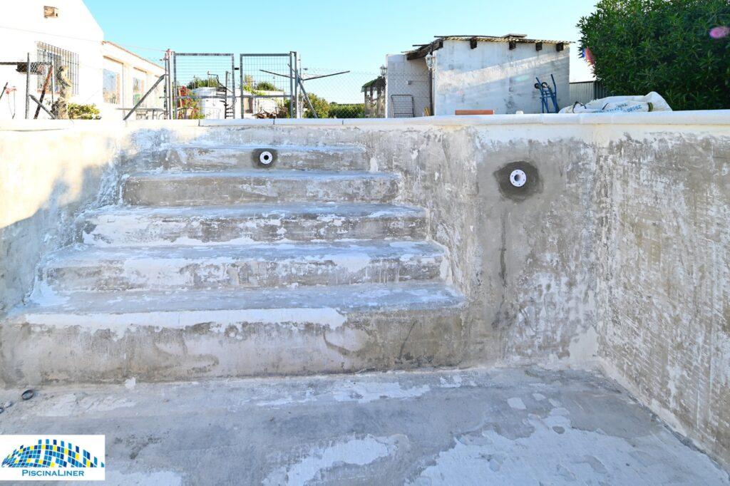 Cracked pool repairs, Cartama