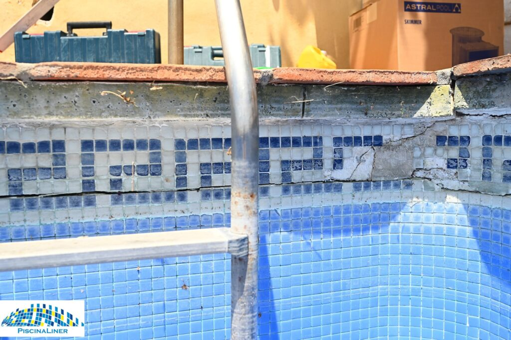 Cracked pool repairs