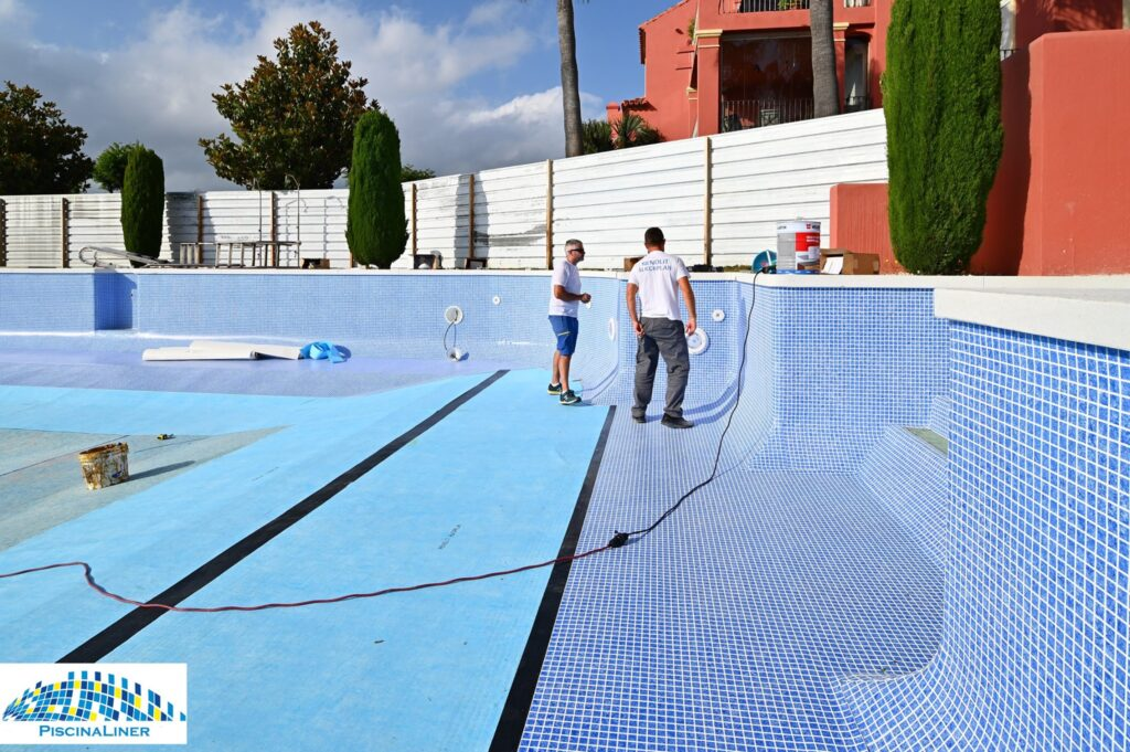 Urbanisation swimming pool works, benahavis