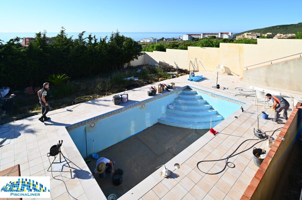 Swimming pool renovation, Estepona