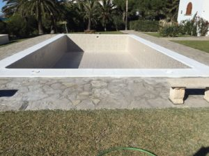 Completed swimming pool reform, Cadiz