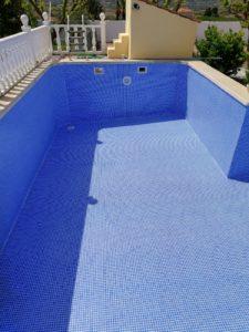 Renolit Ceramics Atenea, Blue pool liner
