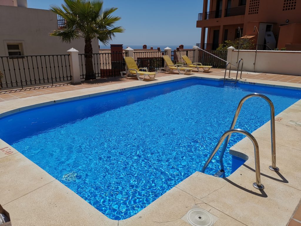 Urbanisation pool renovation, Mijas