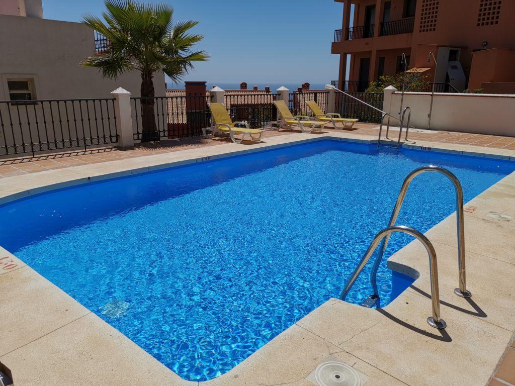 Urbanisation swimming pool works
