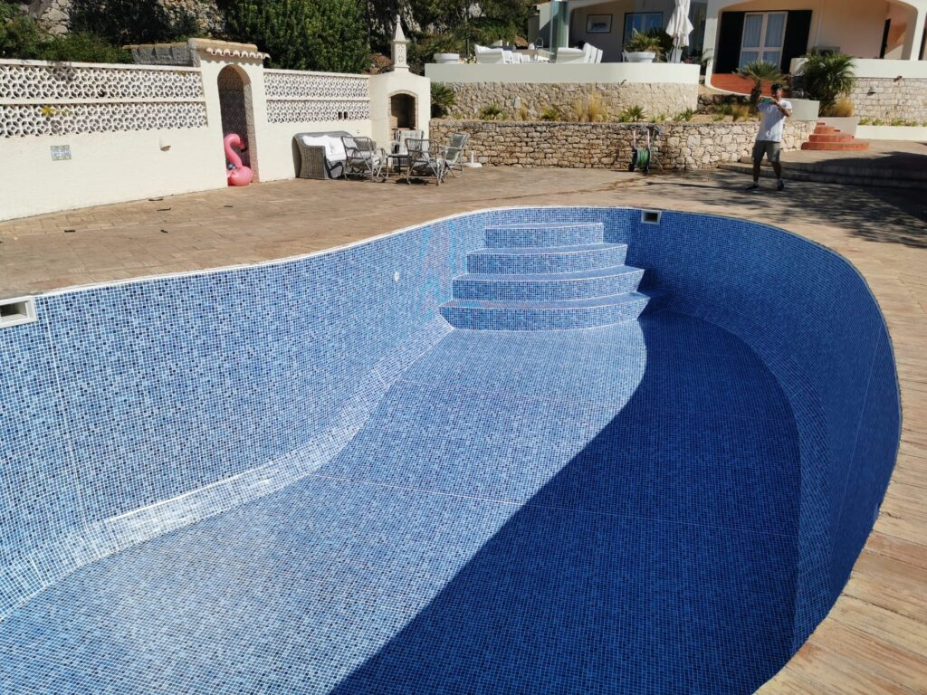 Renolit swimming pool liners, Algarve, Portugal