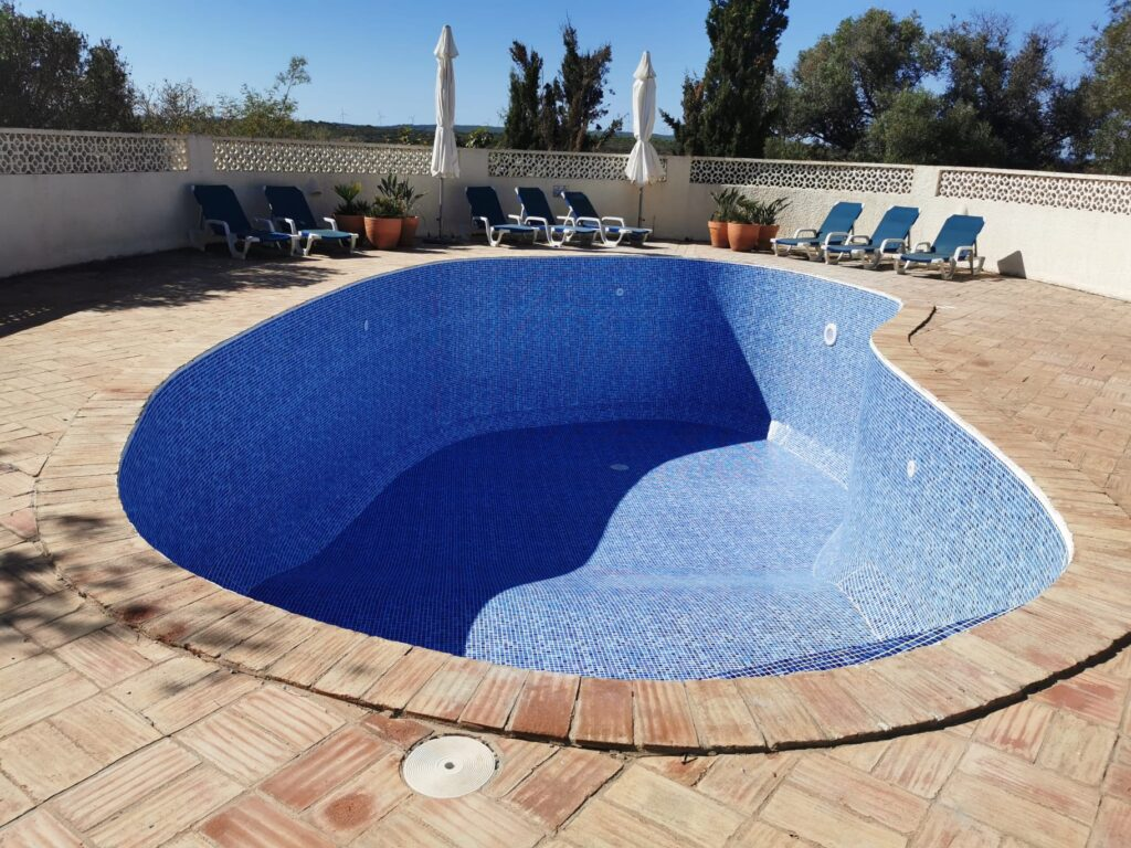 Swimming pool membrane, Lagos, Portugal