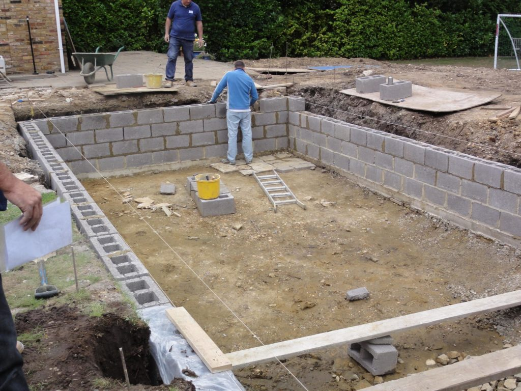 Self Build Diy Swimming Pool Building In Spain Or Portugal
