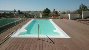 Pool Liner, White, Algarve