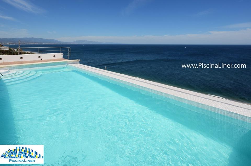 Manilva infinity pool renovation